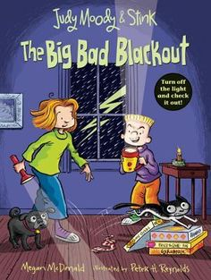 ebook - The Big Bad Blackout (Judy Moody & Stink) by Megan McDonald Stank Face, Judy Moody, Reluctant Readers, Budget Book, Penguin Random House, Chapter Books, Bad News, Family History, Audio Books