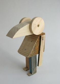 Offcuts - A series of animals made from offcuts. By the always excellent Studio Mama.