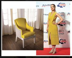 """And another """"Who Wore It Better!!""""  Rita Ora in a mustard yellow Calvin Klein, Vs. The New Traditionalists.. and…GO https://www.facebook.com/photo.php?fbid=292379394215774&set=pb.244961498957564.-2207520000.1390604358.&type=3&theater"""