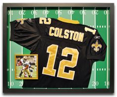 Jersey framing #football #jersey #customframing