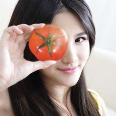 Mascarilla casera de tomate, especial para la piel grasosa