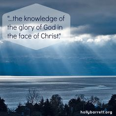 In the Face of Christ www.hollybarrett.org