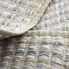 Kids Rugs: Cream Braided Handwoven Rug   The Land of Nod