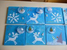 toiles de Noël chez Patricia: photos 2014 - école petite section