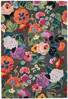 Anthropologie Gloria's Garden Rug #anthrofave #anthroregistry