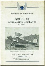 Douglas O-2 Aircraft   Handbook Manual