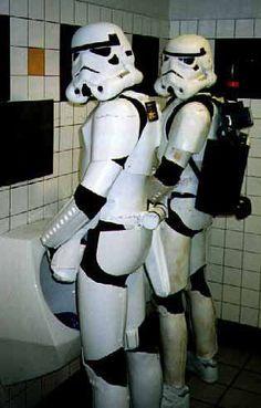 Off-Duty Stormtrooper Art