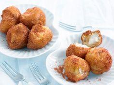 Découvrez la recette Beignets au fromage sur cuisineactuelle.fr.