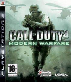 "CALL OF DUTY 4 MODERN WARFARE  -  The Call of Duty series returns this time into a modern day setting. The player takes control of a character nicknamed ""Soap,"" for the majority of the campaign and will need to progress through many modern warfare scenarios."