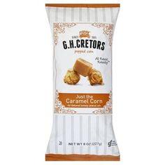 Gh Cretors Creme Popcorn Just Caramel (12x8OZ )