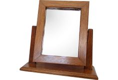 Solid Wood Table Mirror
