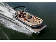 Don't be surprised if you find it difficult to believe the Aurora is an entry-level pontoon. Especially knowing that many of the standard features and amenities on the 23 Aurora Twin Tube, are options on other manufacturers mid-range boats. But, challenging perception is part of who we are. And, once you set out in an Aurora for a fun-filled day on the water, you'll see why. Once again, value and quality have a meaning. Manitou Pontoon, Pontoon Boats, Entry Level, Car Detailing, Perception, Aurora, Challenges, Range, Oasis