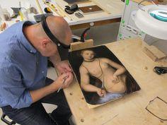 MUSEO BELLAS ARTES DE BILBAO atelier peinture, traitement Cranach Art Conservation, Bilbao, Teamwork, Investigations, Human Body, Restoration, Workshop, Collection, Mural Painting