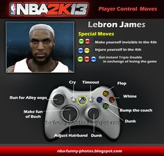 NBA FUNNY MOMENTS: Funny NBA2K13 New Player Control Moves