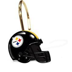 Pittsburgh Steelers Shower Curtain Rings