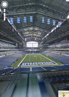 Google is taking Street View inside NFL stadiums now