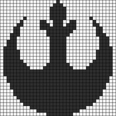 Rebel Alliance Emblem - Star Wars Perler Bead Pattern