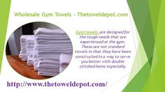 https://flic.kr/p/JdsRFA | Wholesale Gym Towels - Gym Towels | Call Us (800) 585-0314 for more info about our products.   Follow Us On : www.youtube.com/user/toweldepot   Follow Us On : www.pinterest.com/toweldepot/   Follow Us On : plus.google.com/+Thetoweldepot/posts