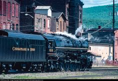 RailPictures.Net Photo: CO 614 Chesapeake & Ohio (C&O) Steam 4-8-4 at Port Jervis, New York by Steve Barry / www.railroadphotographer.com