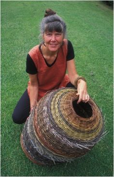 Lise Bech - Basketmaker.  Would like to visit her in Scotland!