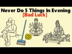 Never Do 5 Things In The Evening | Brings Poverty | The Magical Indian - YouTube