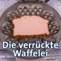 Waffle Maker Recipes: Quick Waffle Iron Snacks - Waffeln, Zimtwaffeleisen & Co. Snacks To Make, Quick Snacks, Quick Recipes, Waffle Maker Recipes, Healthy Peanut Butter, Popcorn Recipes, Waffle Iron, Sweet And Salty, Pumpkin Recipes