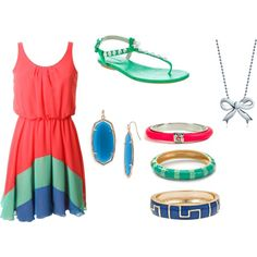 summer time, Polyvore♥