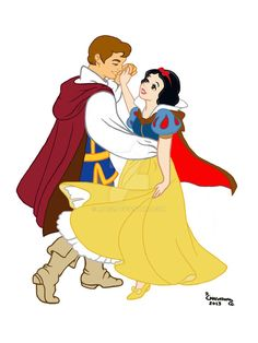 01.Blancanieves y el principe by Rob32