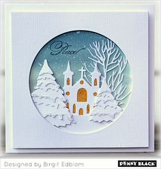 The talented Birgit Edblom has been working her magic with our new release, Festive Wishes! Join us over the next two weeks as she spotlights our new stamps and dies with her trademark inspiring st…