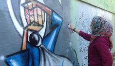 KABUL'S FEMALE GRAFFITI MASTER | THE CREATORS PROJECT MEETS SHAMSIA HASSANI