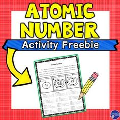 Atomic Number Review Activity - This physical science resource is a great reinforcement for teaching the atomic number during your unit on atoms or the periodic table of elements. Included is a one-page worksheet for students to use to practice knowing that the atomic number, number of protons and electrons are all the same number. Students will use the illustrations as well as written information to answer the twelve questions. {5th, 6th, 7th grade - free - freebie - physical science}