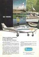 Beechcraft Musketeer 1971 Ad Picture