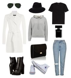 """""""10 WINTER STAPLES"""" by zoelynn-b on Polyvore featuring Topshop, Report, T By Alexander Wang, Ralph Lauren Black Label, Ray-Ban, Converse, Maison Michel, Mansur Gavriel and Narciso Rodriguez"""