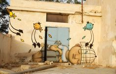 Tunisian street art - in pictures