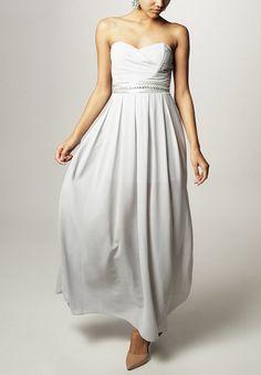 TFNC ELIDA Długa sukienka grey