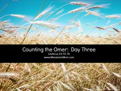 Day three Omer Count.... feel free to use the banners.