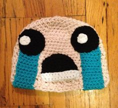 The Binding of Isaac Beanie by EightBitStitching on Etsy