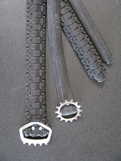 belt from bike tire and gears by gilbertvh