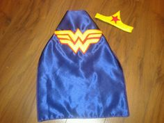 Nb wonder woman cape and mask