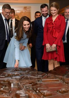 The Duchess Of Cambridge Cambridge Visits Luxembourg on May 11, 2017