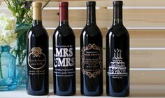 Groupon - Personalized Etchings on California Wine from WineGreeting.com (Up to 59% Off). Groupon deal price: $29.99