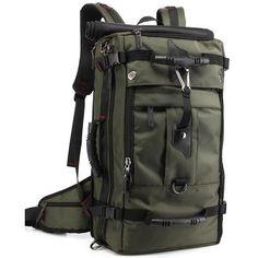 549b6c695ed4 Large Travel Backpack 40L Hiking Camping Bag – Woosir Backpack Travel Bag