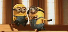 Check out all the awesome minions gifs on WiffleGif. Including all the despicable me gifs, minion gifs, and lol gifs. Gif Minion, Minion Humour, Despicable Me 2 Minions, Minion Movie, Happy Minions, Image Minions, Minions Images, Funny Minion Pictures, Minions Quotes