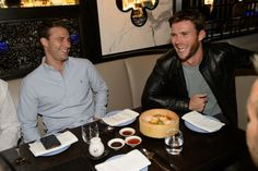 Scott Eastwood spotted at Hakkasan at the MGM Grand on Friday night, April 3, 2015