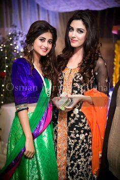 Pakistani celebs, Sajal Ali & Maya Ali