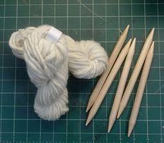 Hand Spun Chunky Merino Blend Yarn  50 Yards by ThePaletteandPurl, $10.00