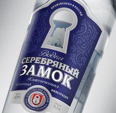 Серебряный замок – водка Russian Vodka, Cleaning Supplies, Soap, Bottle, Flask, Soaps, Jars