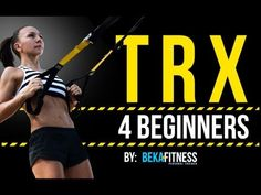 ▶ TRX Workout for Beginners - YouTube @Tara Ellis this is another really good video