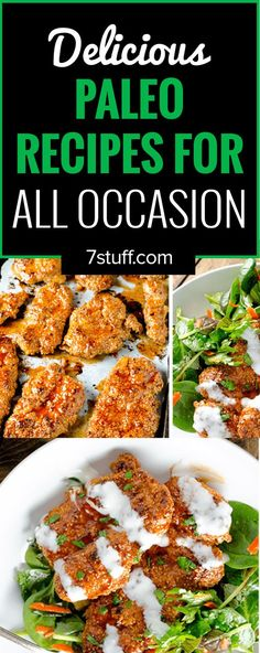 Delicious paleo recipes for all occasions
