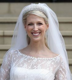Royal weddings are often extravagant events and the brides usually look absolutely stunning! Here are the most beautiful royal wedding dresses! Royal Brides, Royal Weddings, Prince Philip Queen Elizabeth, Bridal Gowns, Wedding Gowns, Prince Michael Of Kent, Blush Gown, Bride Look, Newlyweds